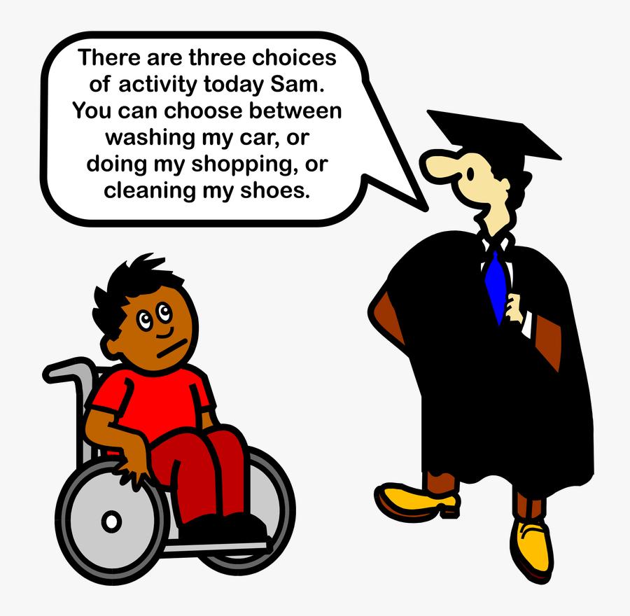 Picture - Cartoon Inclusive Education, Transparent Clipart