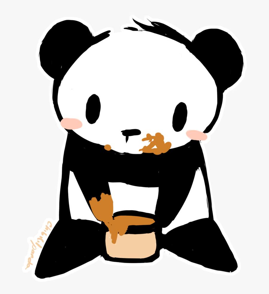 Cute Panda Anime Gif Panda Chibi Transparent Background Free Transparent Clipart Clipartkey