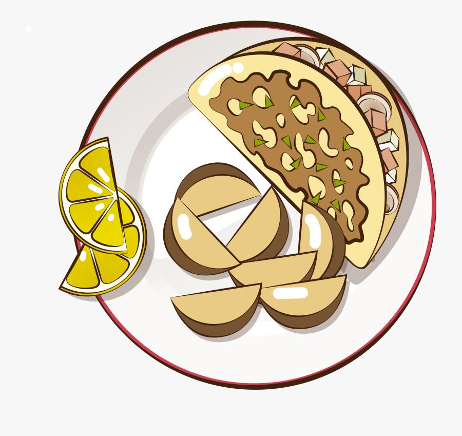 Transparent Pie Clip Art - Fast Food, Transparent Clipart