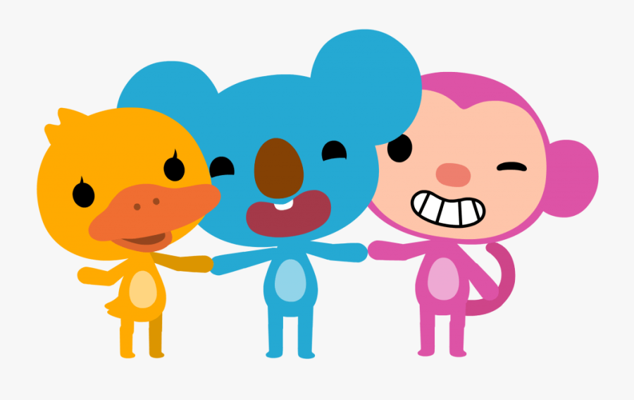 Qkids Momo And Koby, Transparent Clipart
