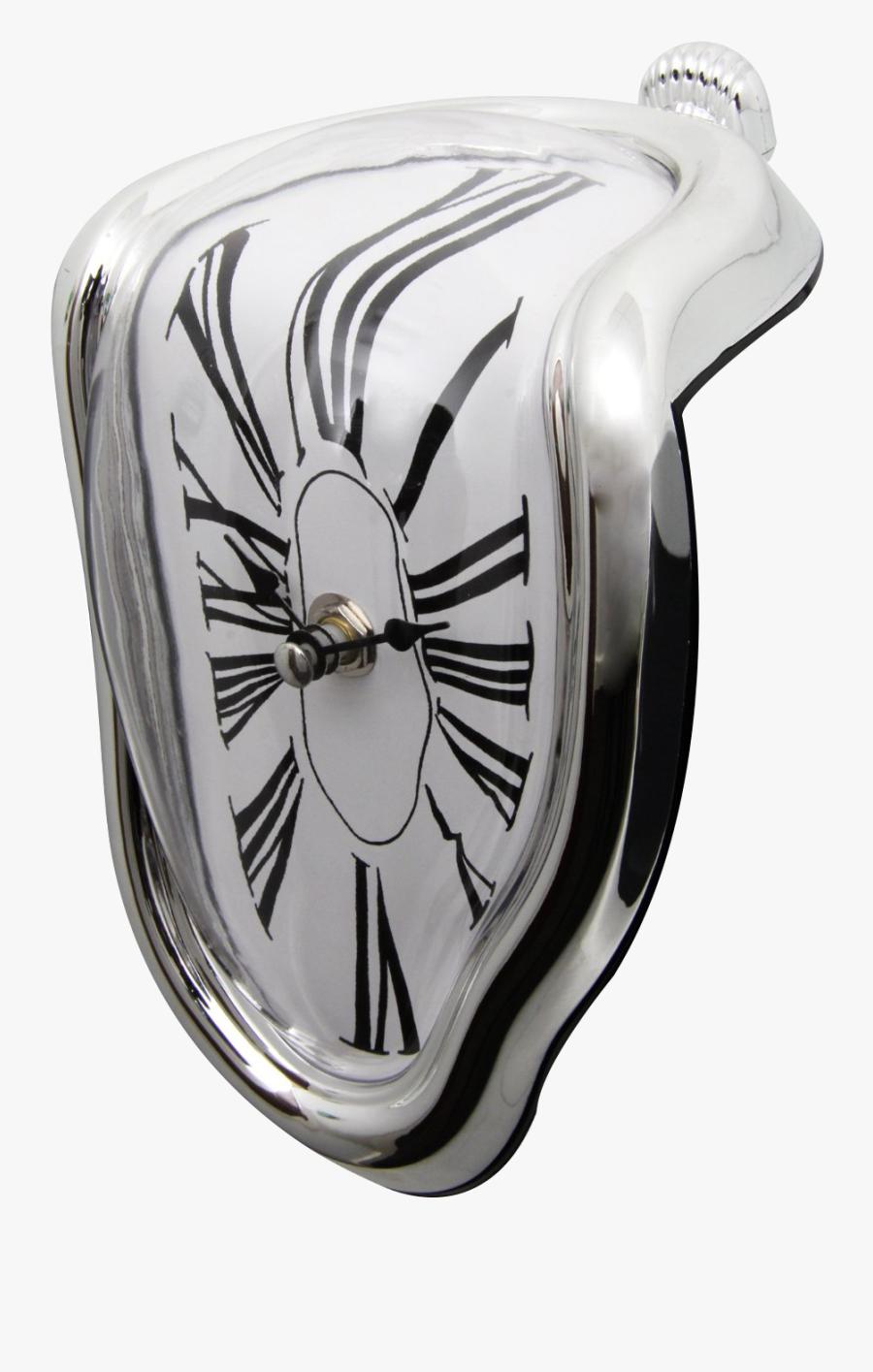 Clip Art Dalis Melting Clocks - Dali, Transparent Clipart