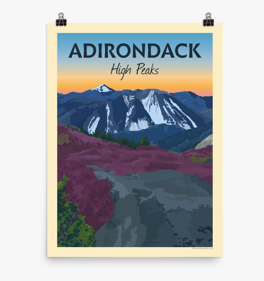 Vintage Poster Gore Pinterest - Adirondacks National Park Poster, Transparent Clipart