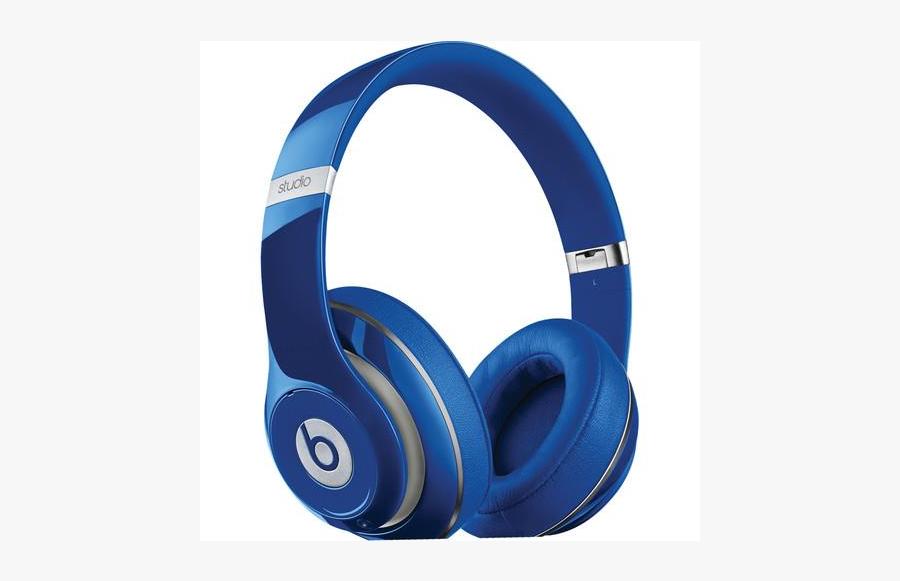 Clip Art Apple Beats Studio - Blue Beats Studio 2, Transparent Clipart