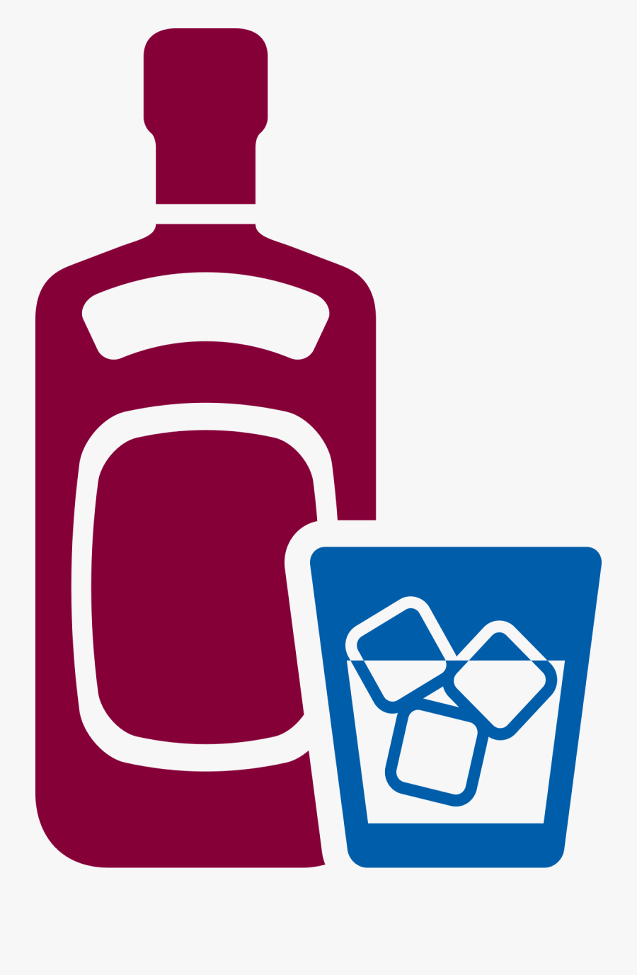 Alcoholic Drinks Icon Png, Transparent Clipart