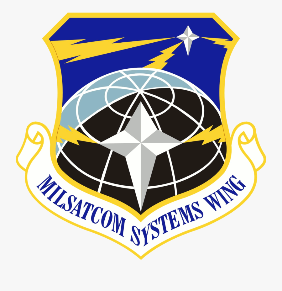 Military Satellite Communications Wing - Community College Of The Air Force Logo, Transparent Clipart