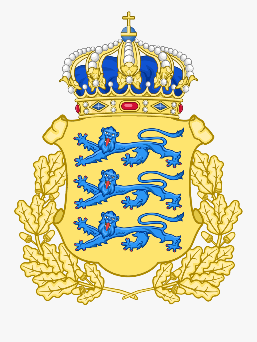 Lesser Coat Of Arms Of Royal Estonia Png - Finland Coat Of Arms Png, Transparent Clipart