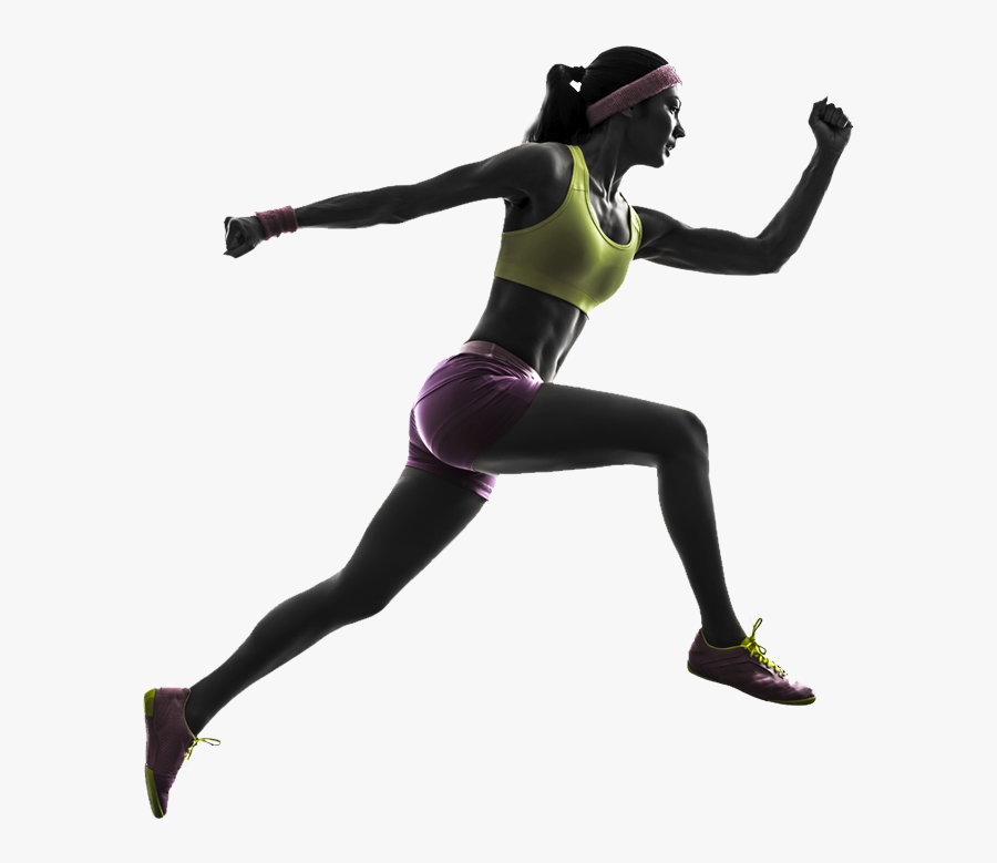 Running Woman Stock Photography Silhouette Jogging - Running Women Silhouette, Transparent Clipart