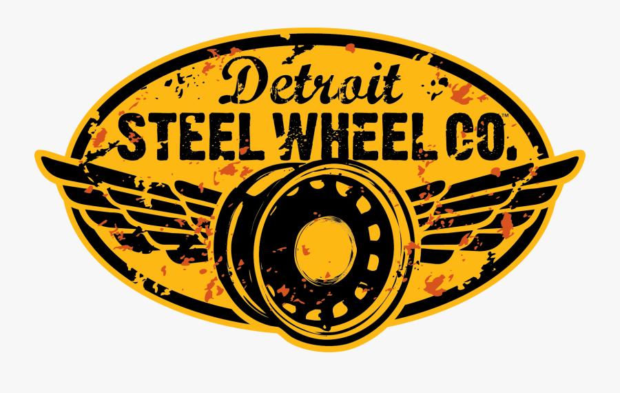 Transparent Lug Nut Clipart - Detroit Steel Wheel Co, Transparent Clipart