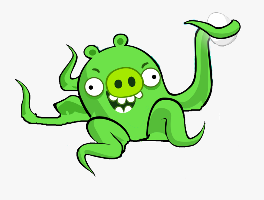 Image Px Octopig Png Wiki Fandom Powered - Angry Birds Alien Pig, Transparent Clipart