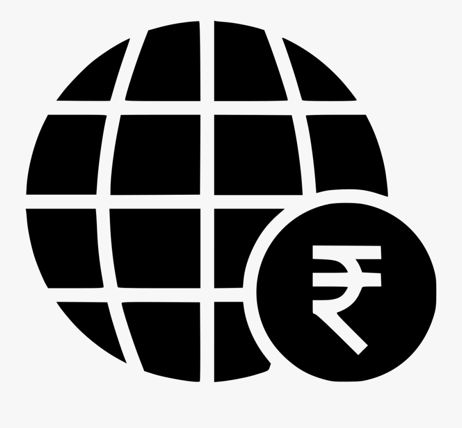 Globe Money Business Expansion Currency Rupee Comments Transparent Background Internet Icon Png Free Transparent Clipart Clipartkey