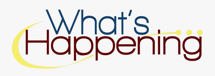 What's Happening Clipart , Free Transparent Clipart - ClipartKey