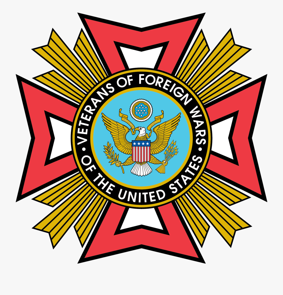 Vfw-clear - Veterans Of Foreign Wars Logo, Transparent Clipart