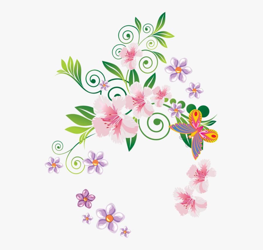 Floral Design, Transparent Clipart