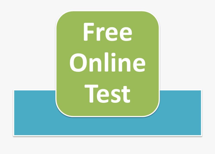 Test Clipart Multiple Choice Test - Free Online Test, Transparent Clipart