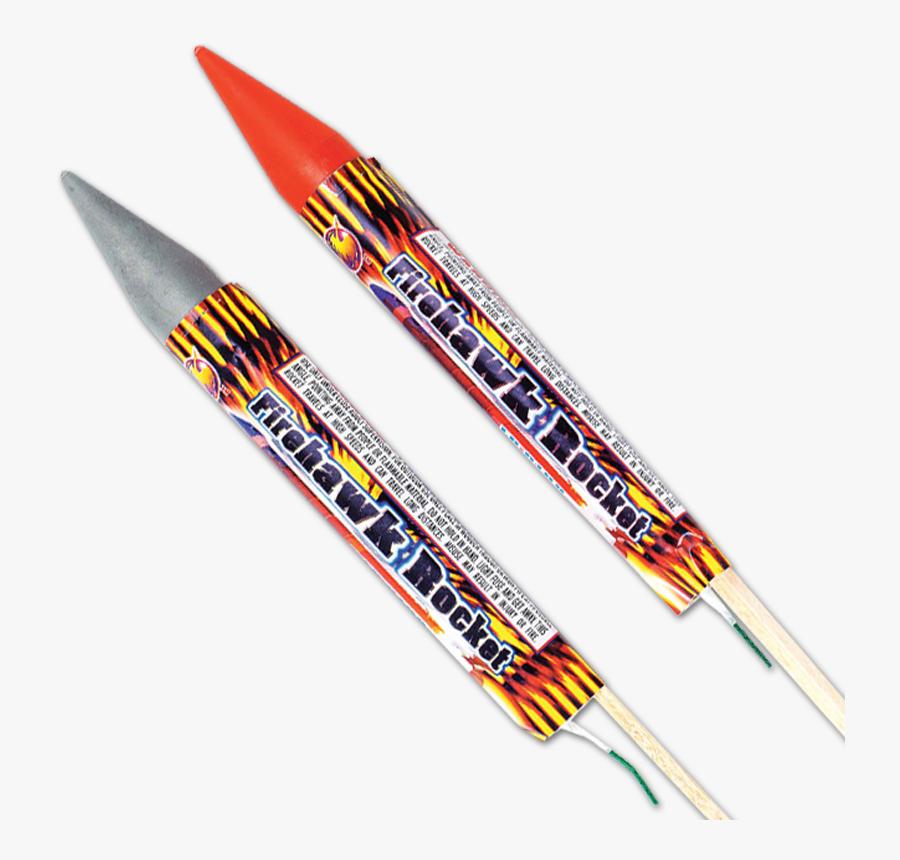 Transparent Firework Rocket Png - Rocket Fireworks, Transparent Clipart