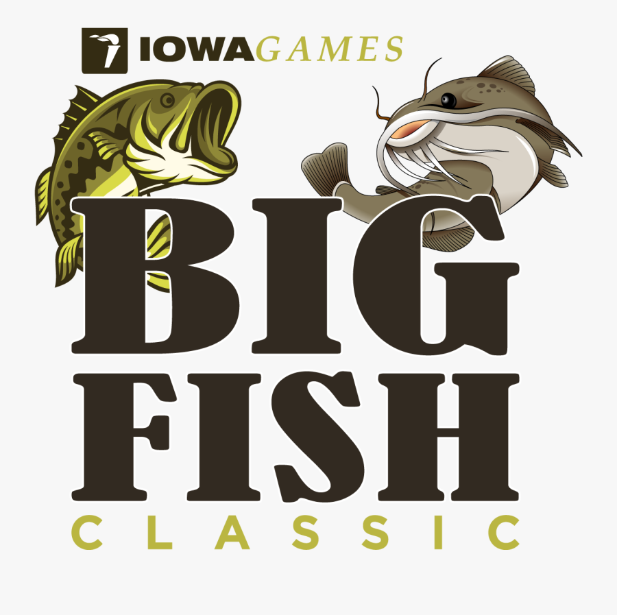 Big Fish Classic - Iowa Games, Transparent Clipart