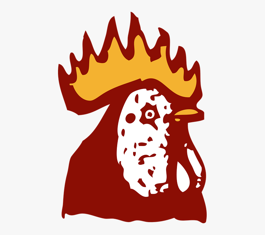 Animal, Bird, Chicken, Head, Rooster - Kepala Ayam Logo Png, Transparent Clipart