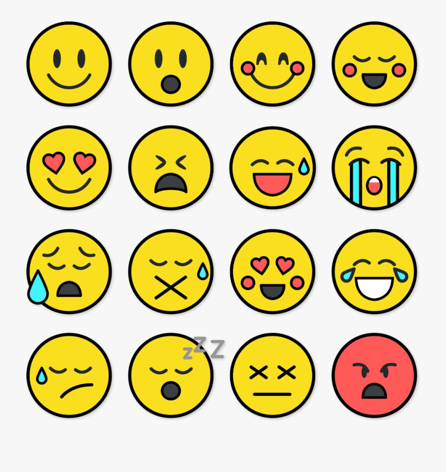 Transparent Emoji Border Clipart - Border Emoji, Transparent Clipart