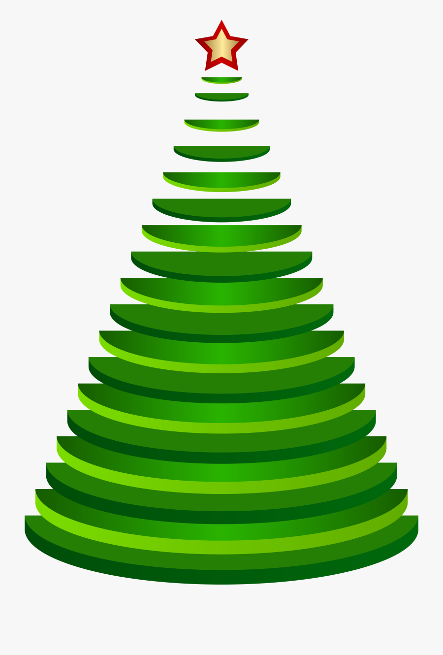 Decorative Christmas Tree Png - Christmas Tree, Transparent Clipart
