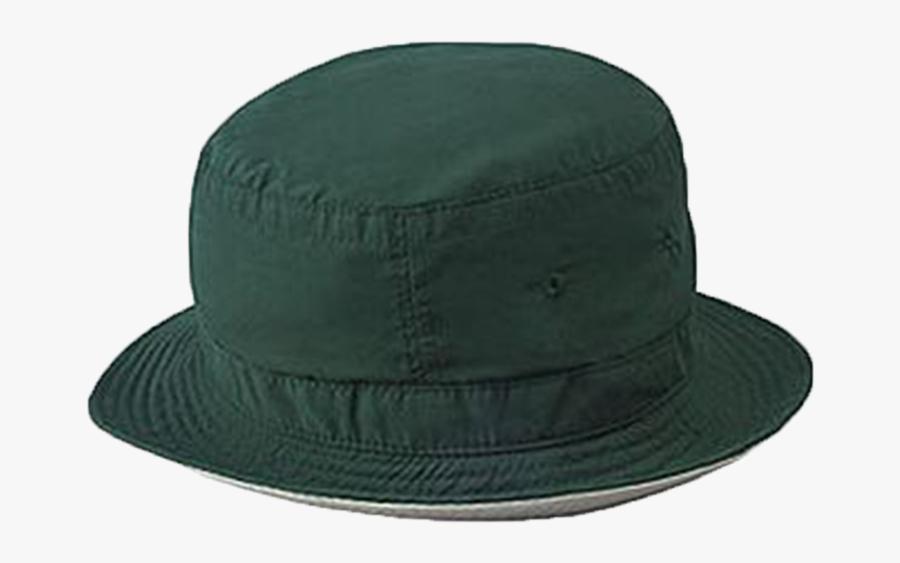 16 101 1732 Reversible Bucket Hat Dark Green Khaki - Fedora, Transparent Clipart