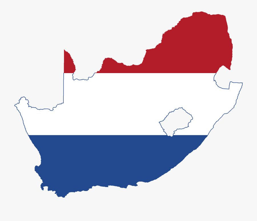 Flag Map Of South Africa Clipart , Png Download - South Africa Country Flag Map, Transparent Clipart