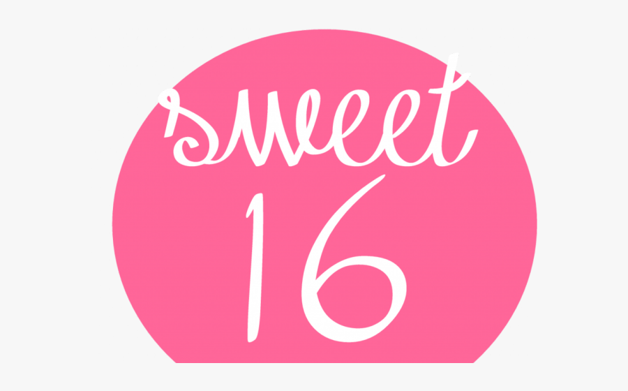 Sweet Sixteen Clipart - Sweet 16, Transparent Clipart