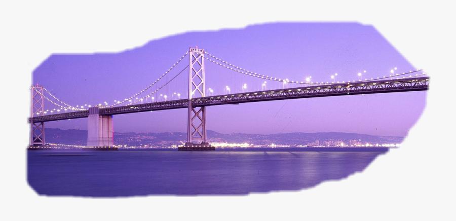 Uu Freetoedit - Self-anchored Suspension Bridge, Transparent Clipart