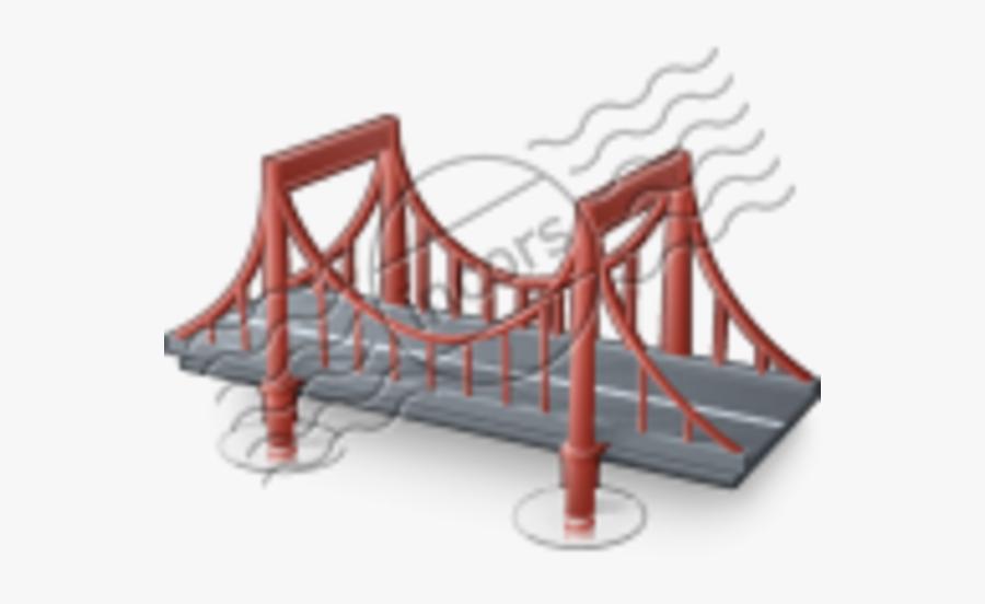 Balsa Wood Bridge, Transparent Clipart