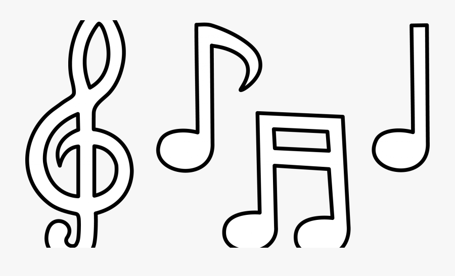 Music Notes Stock Illustration Of Symbol Printable - Music Notes Clipart White, Transparent Clipart