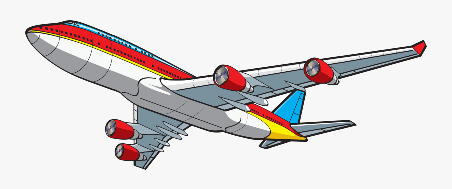 cartoon simple airplane clipart