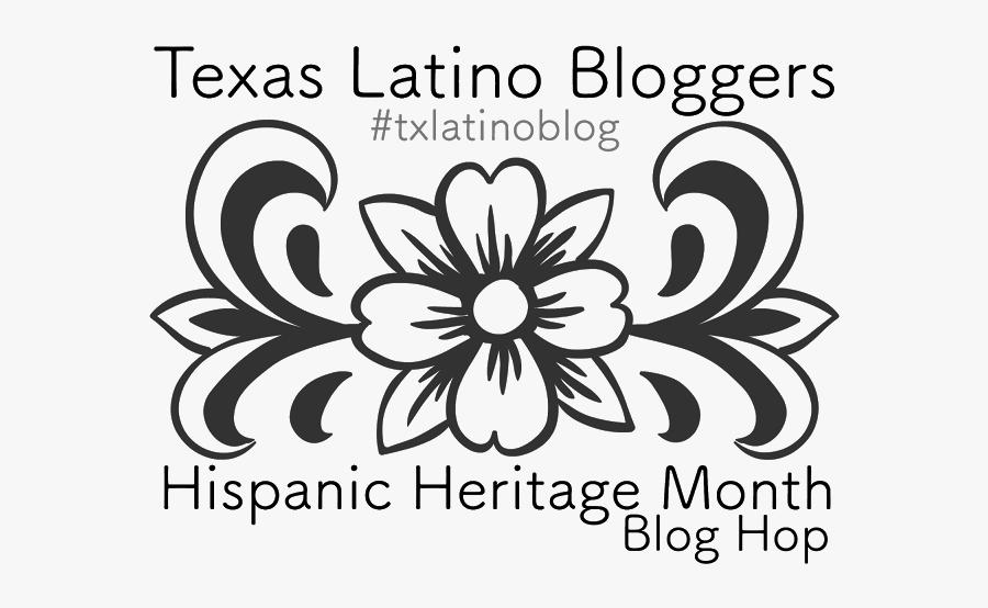 Teas Latino Blog Hispanic Heritage Blog Hop - Printable Sugar Skull Template, Transparent Clipart