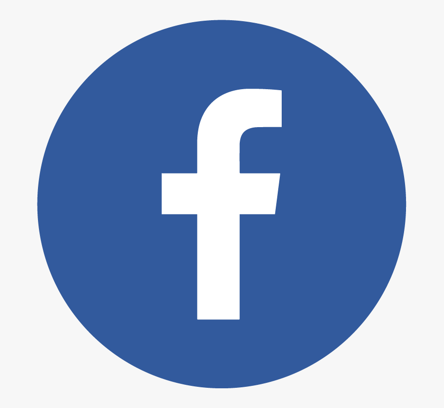 Round Fb Logo Png, Transparent Clipart