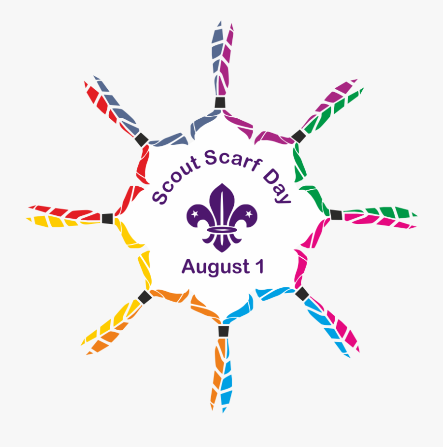 Scarf Day Downloads Logo Transparent Background - Happy World Scout Scarf Day, Transparent Clipart