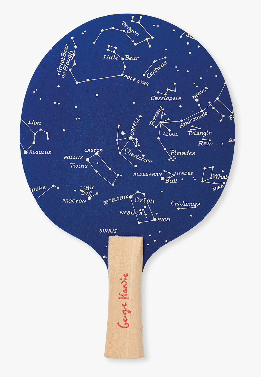 Transparent Ping Pong Paddle Png - Table Tennis Racket, Transparent Clipart