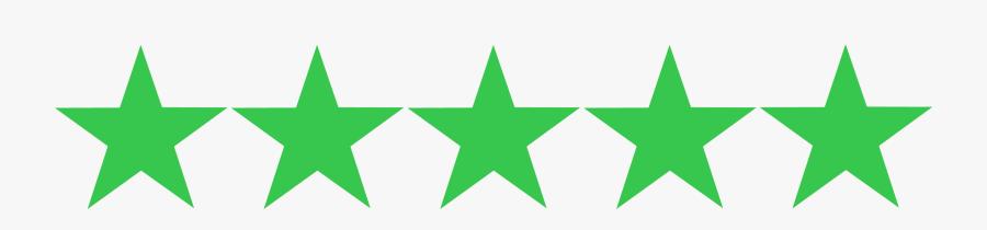 2 5 Star Rating, Transparent Clipart