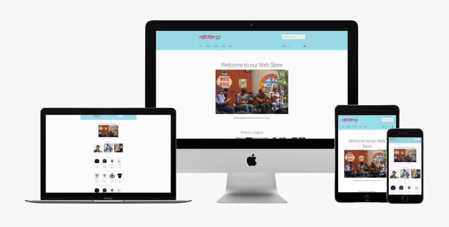 Imac Macbook Pro Ipad - Imac Macbook Iphone Mockup, Transparent Clipart