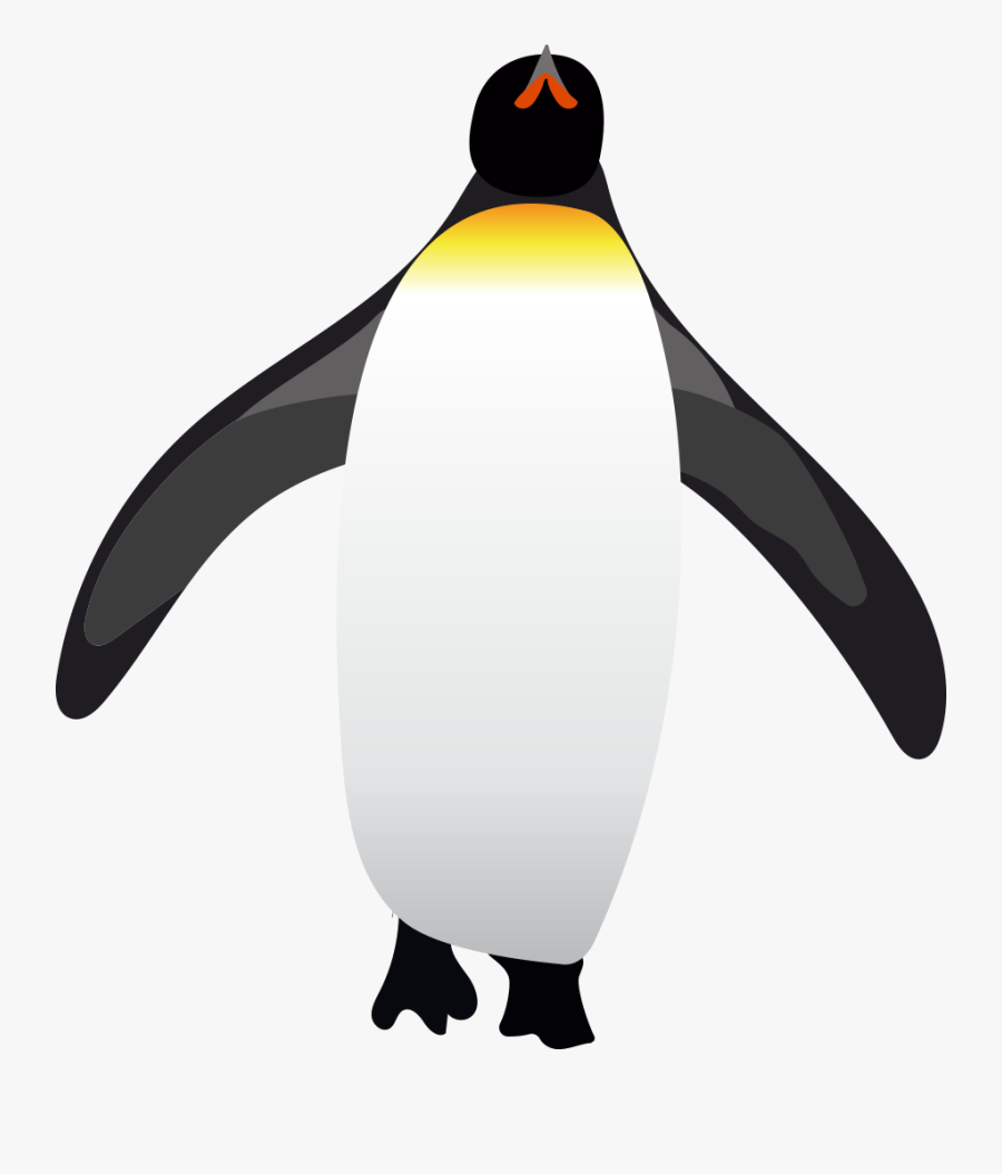 Buncee Penguins Joshua Fountain - King Penguin, Transparent Clipart