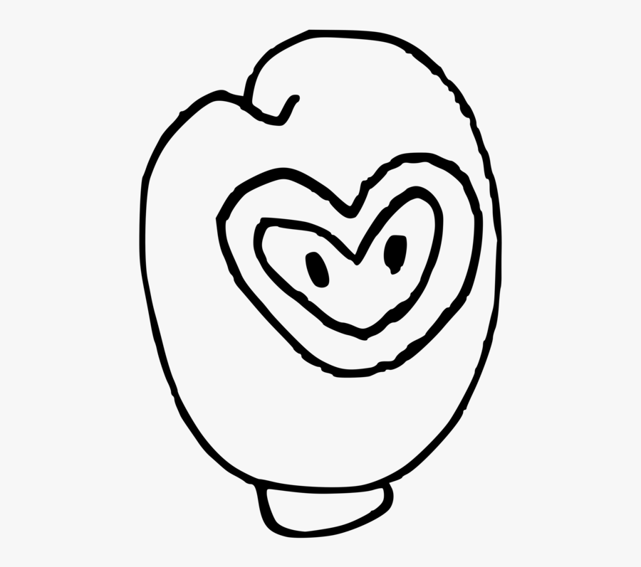 Emotion,heart,love - Line Art, Transparent Clipart