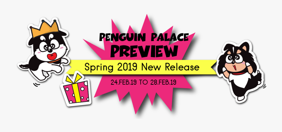 Spring 2019 New Release Penguin Palace Preview & Giveaway - Graphic Design, Transparent Clipart