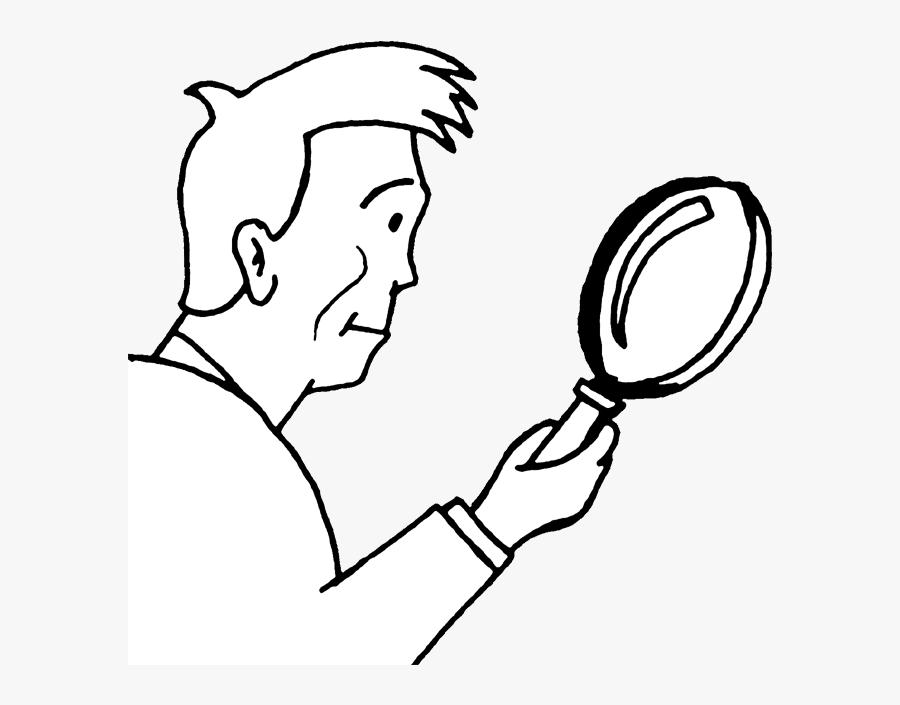 Magnify - Illustration, Transparent Clipart