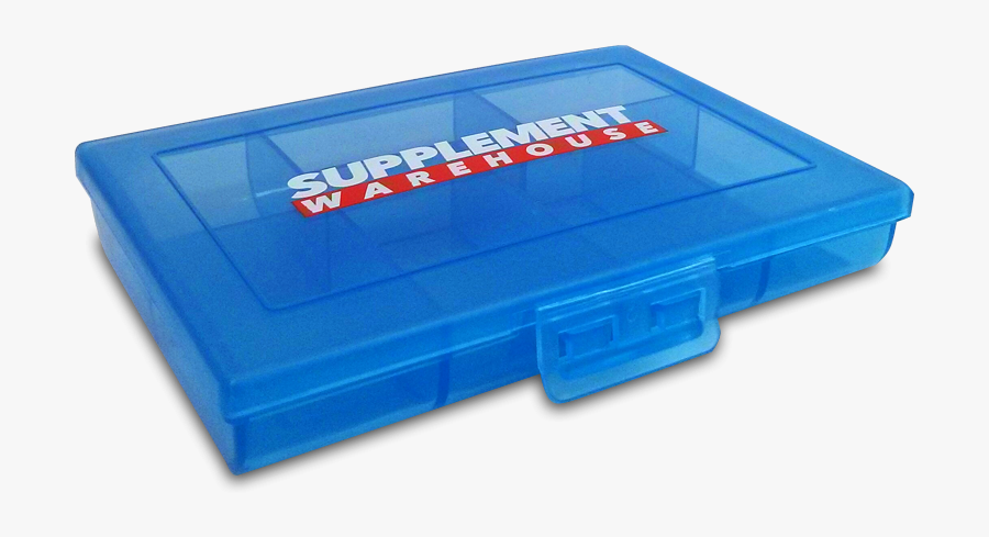 Pill Organizer - Box, Transparent Clipart