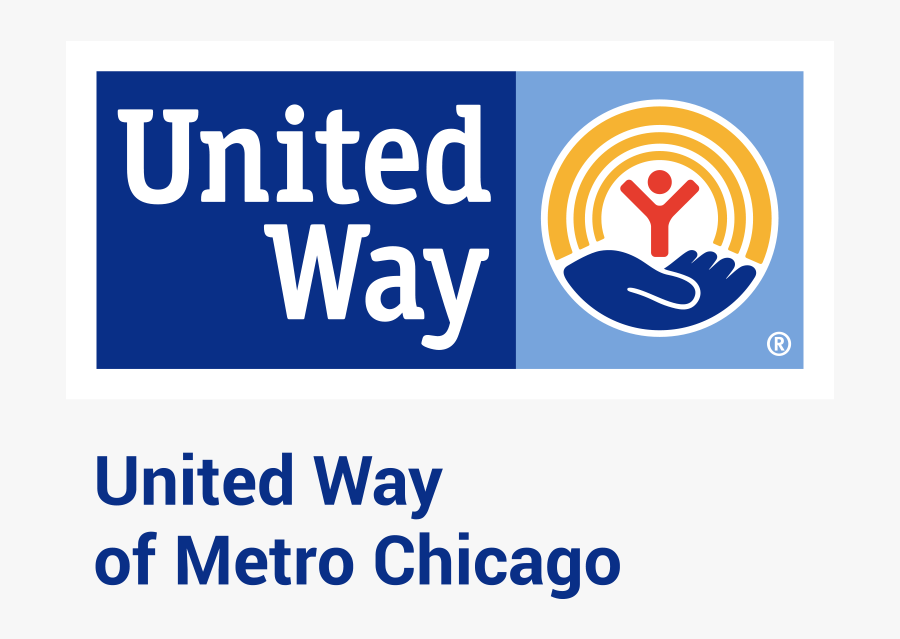 Uw Mcorg United Way Of Metropolitan Chicago - United Way, Transparent Clipart