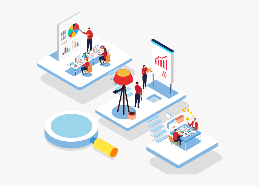 Digital Marketing Website Png, Transparent Clipart