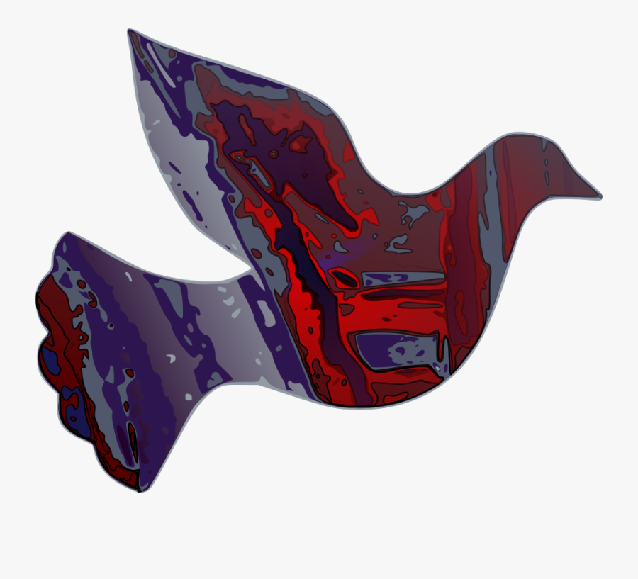 Dark Reality Dove Svg Clip Arts - Dove Clip Art, Transparent Clipart