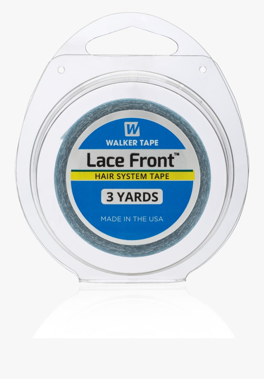 Transparent Tape Dispenser Clipart - Walker Tape Lace Front 3 Yards, Transparent Clipart