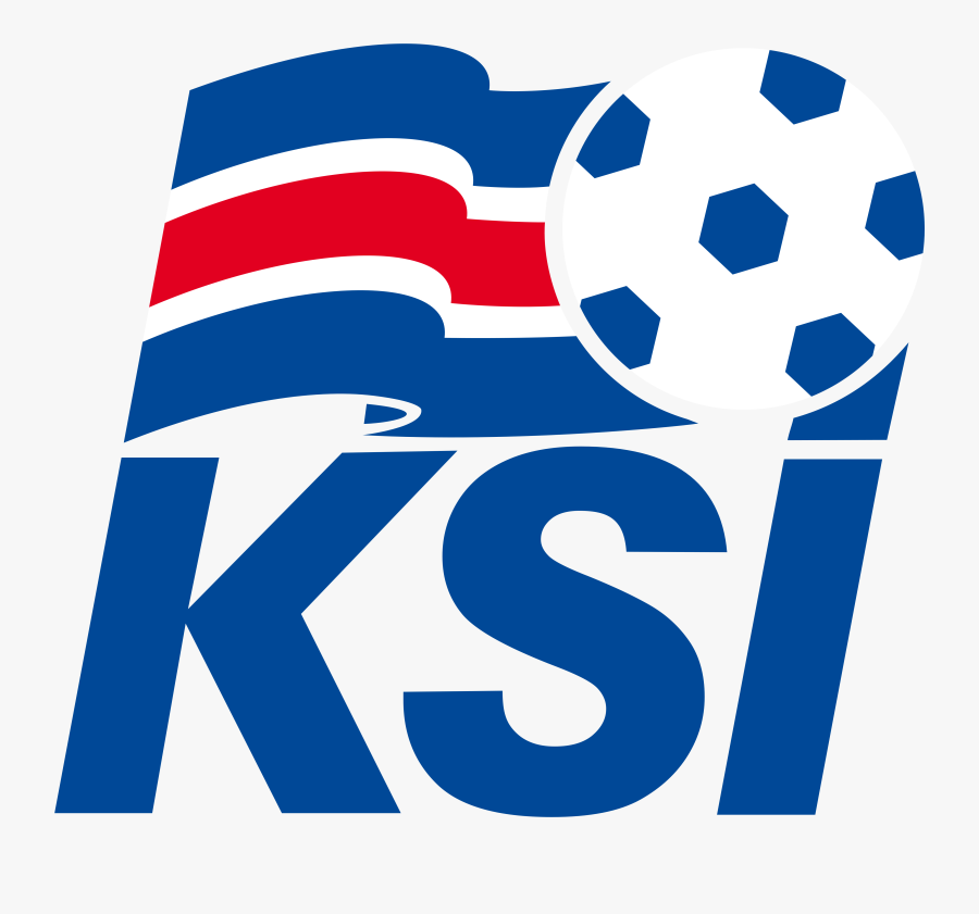Iceland National Football Team Logo, Ksi - Iceland Football Team Logo Png, Transparent Clipart