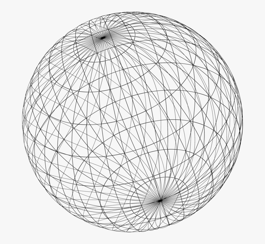 Ball,angle,symmetry - Sphere Geometry, Transparent Clipart