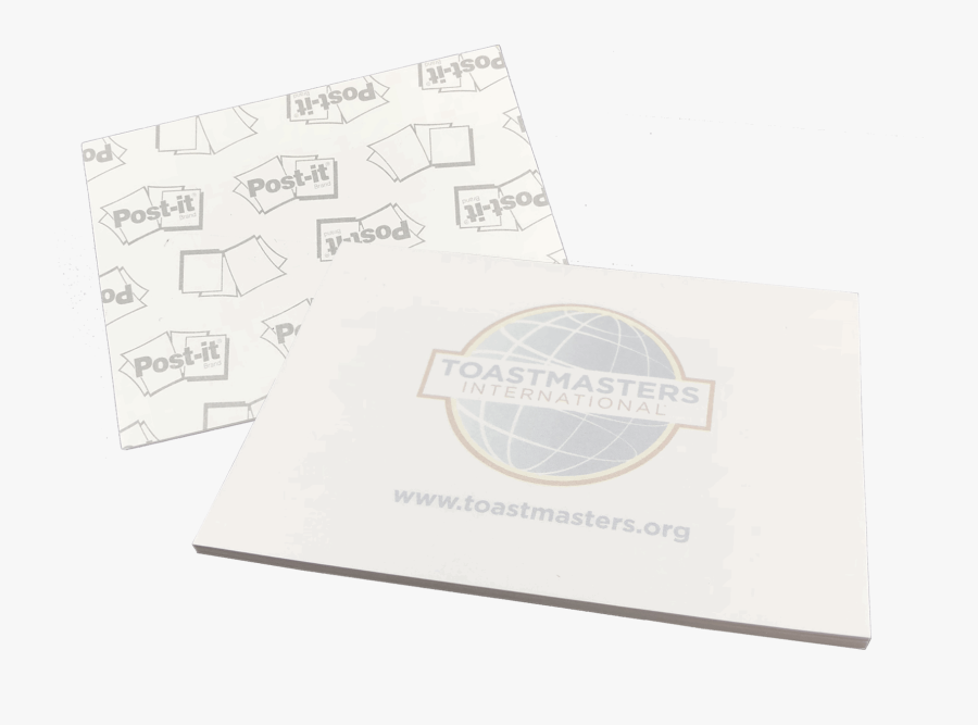 White Post It Notes Png - Post, Transparent Clipart