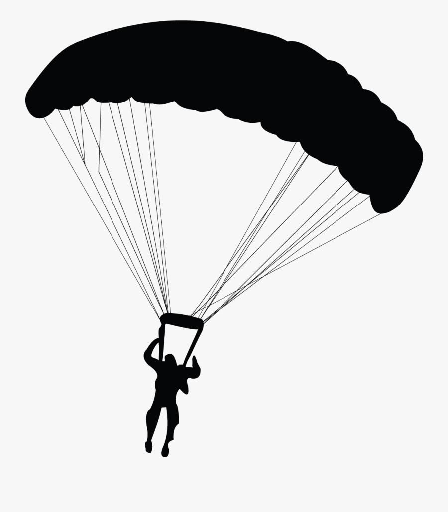 Parachuting Parachute Paragliding - Paragliding Png, Transparent Clipart