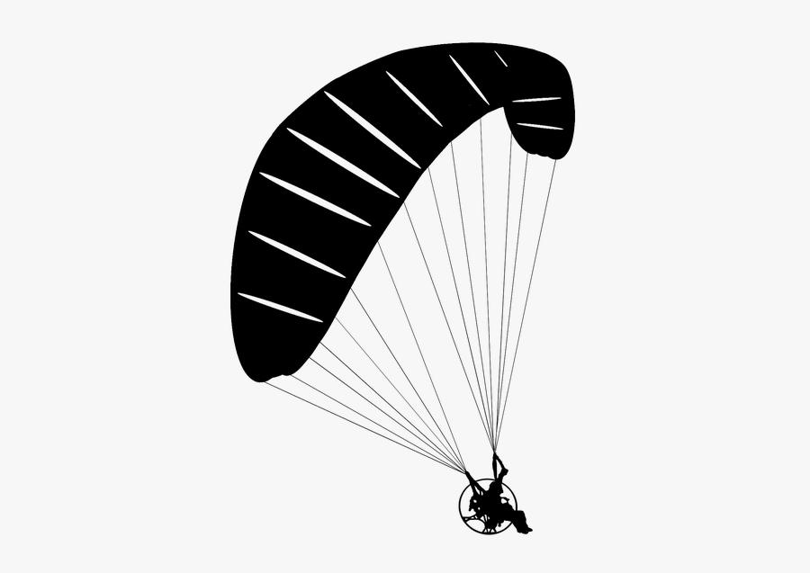 Paragliding Transparent, Transparent Clipart